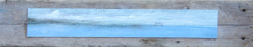 "Memories of the Beach 3""x21"""