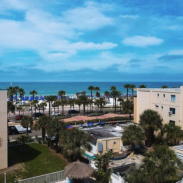 Did you know that TripAdvisor recently named Clearwater Beach the 'Best Beach in America' for the second year in a row? Check out this breathtaking view one of our technicians was treated to while on a service call in the area. Can you spot the Clark Service Group van down below? #GetClarkd #Clearwater #BeachViews - #FL #Florida #FloridaRestaurants #ClearwaterRestaurants #FLFood #FLFoodie #Tampa #TampaBay #TampaRestaurants #FoodService #HVAC #Techs #FLTechs #CFESA #CFESACertified #TripAdvisor