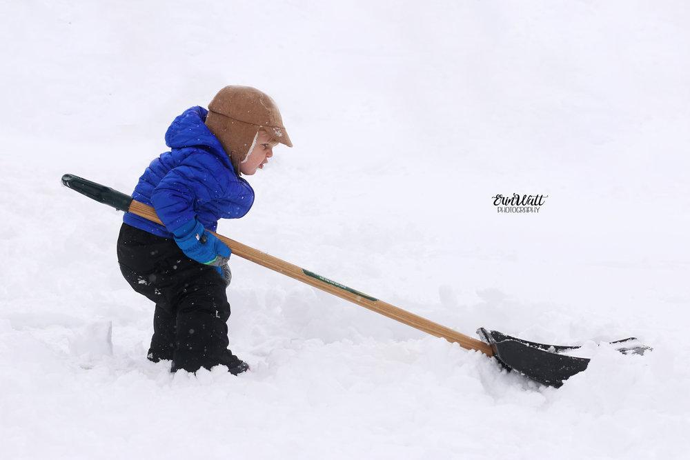 snow lifestyle photography