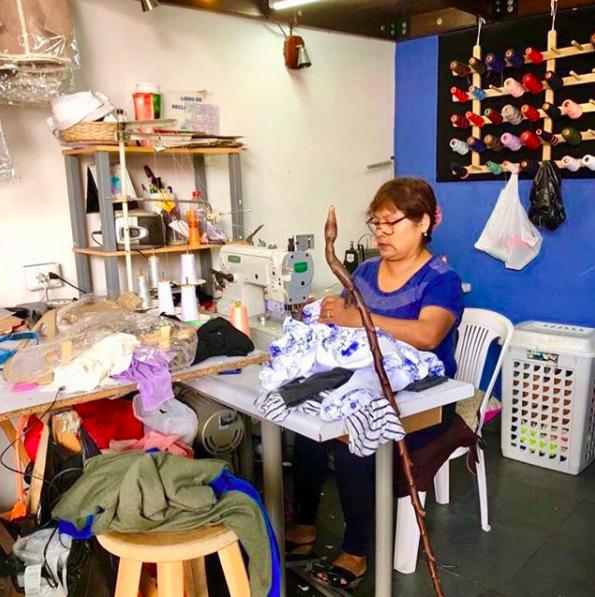 Ravela artisan in Peru