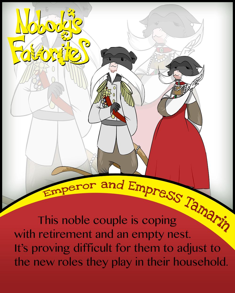 Emperor Tamarin - Bio