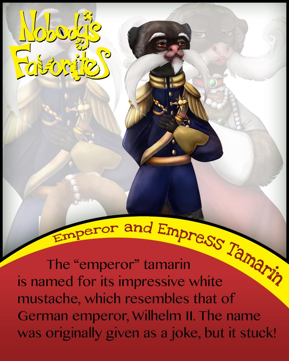 Emperor Tamarin - Fact 1