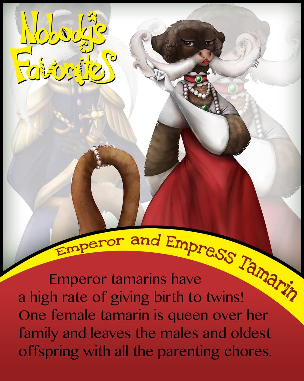 Emperor Tamarin - Fact 2