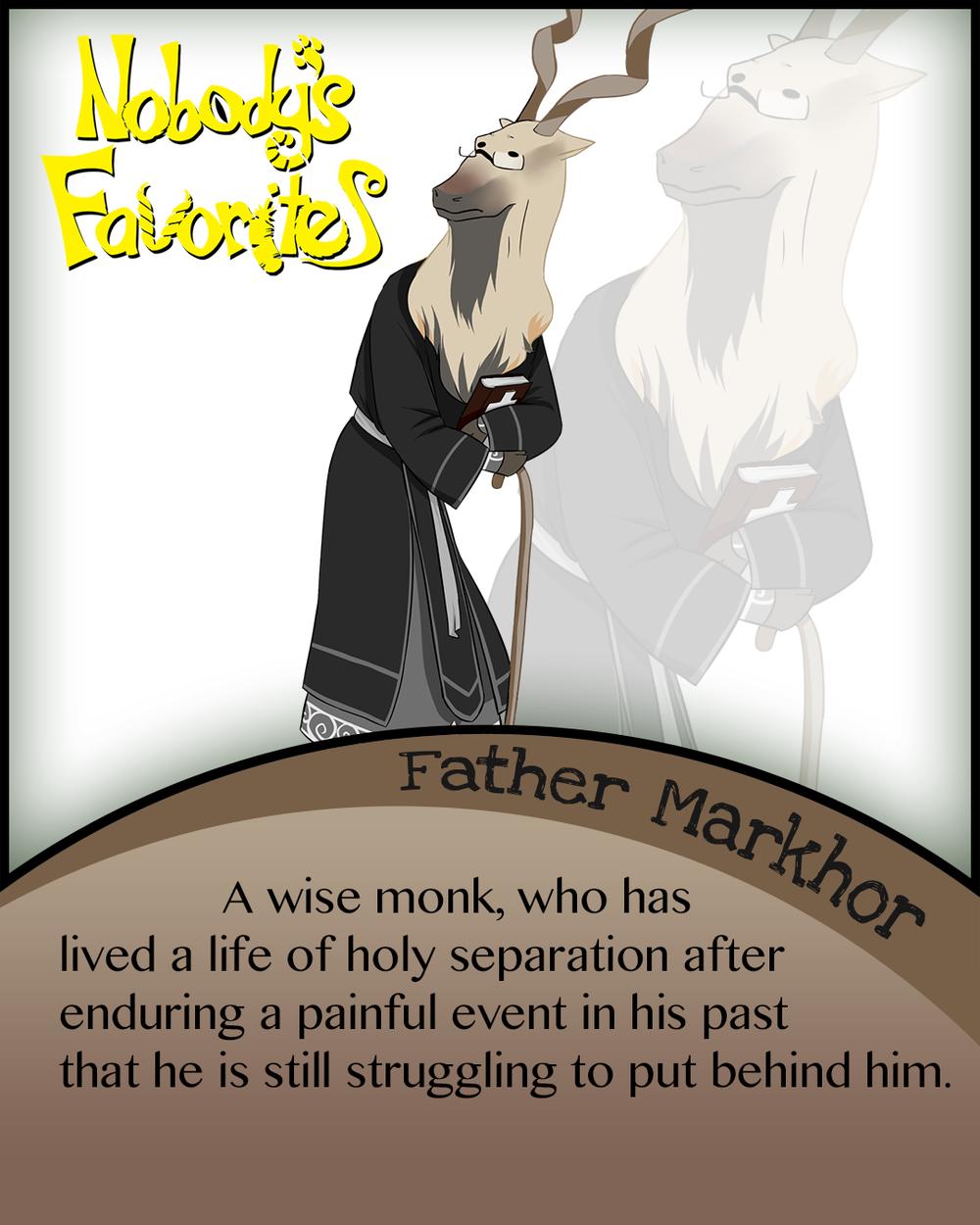 Father Markhor Bio