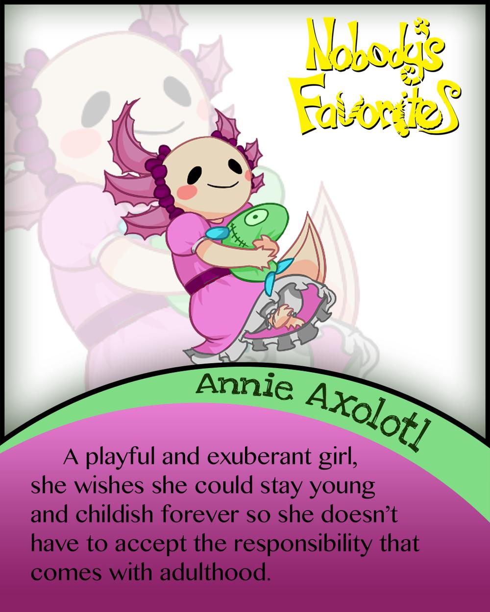Annie Axolotl - Bio