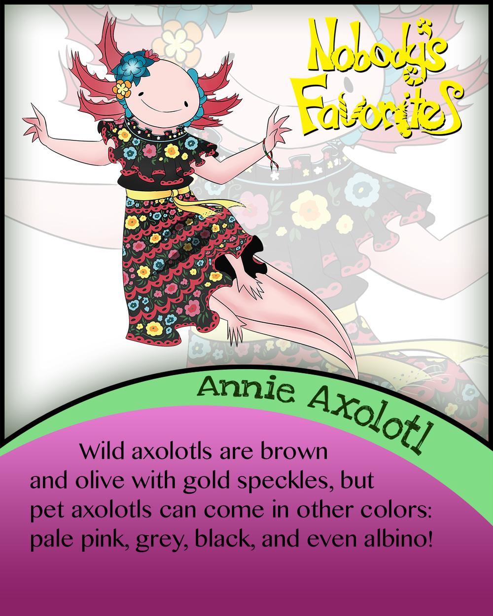 Annie Axolotl - Fact 4