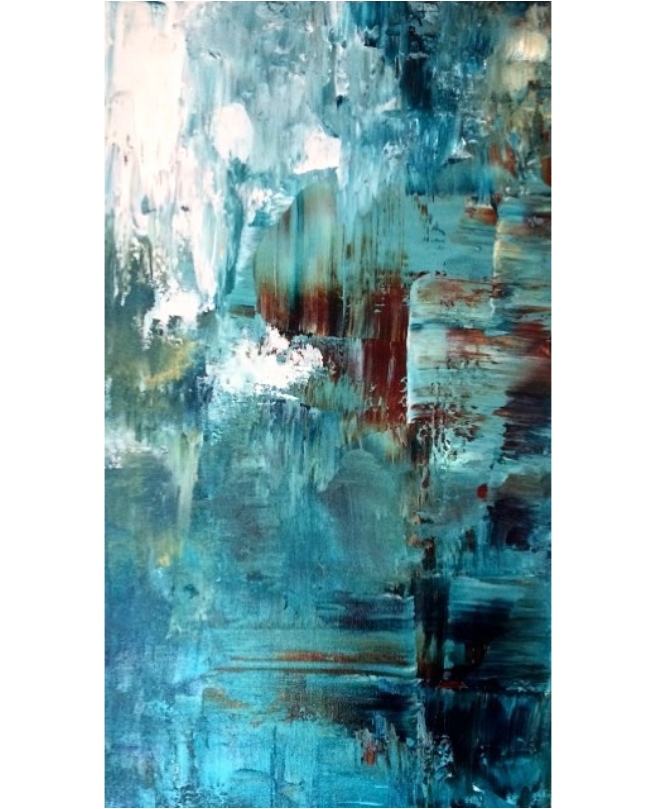 "Untitled | Acrylic | 24"" x 30"" | Unavailable"