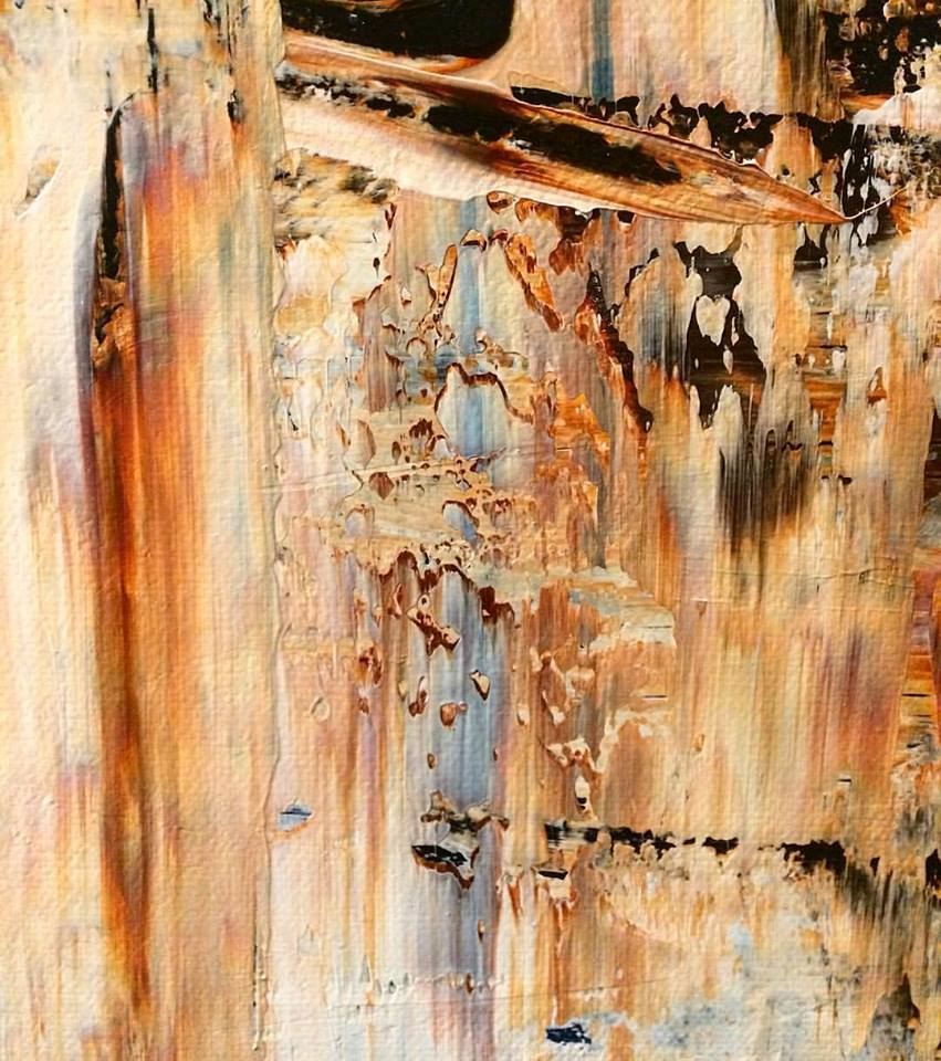 "Bear Medicine, Detail | Acrylic | 30"" x 40"""