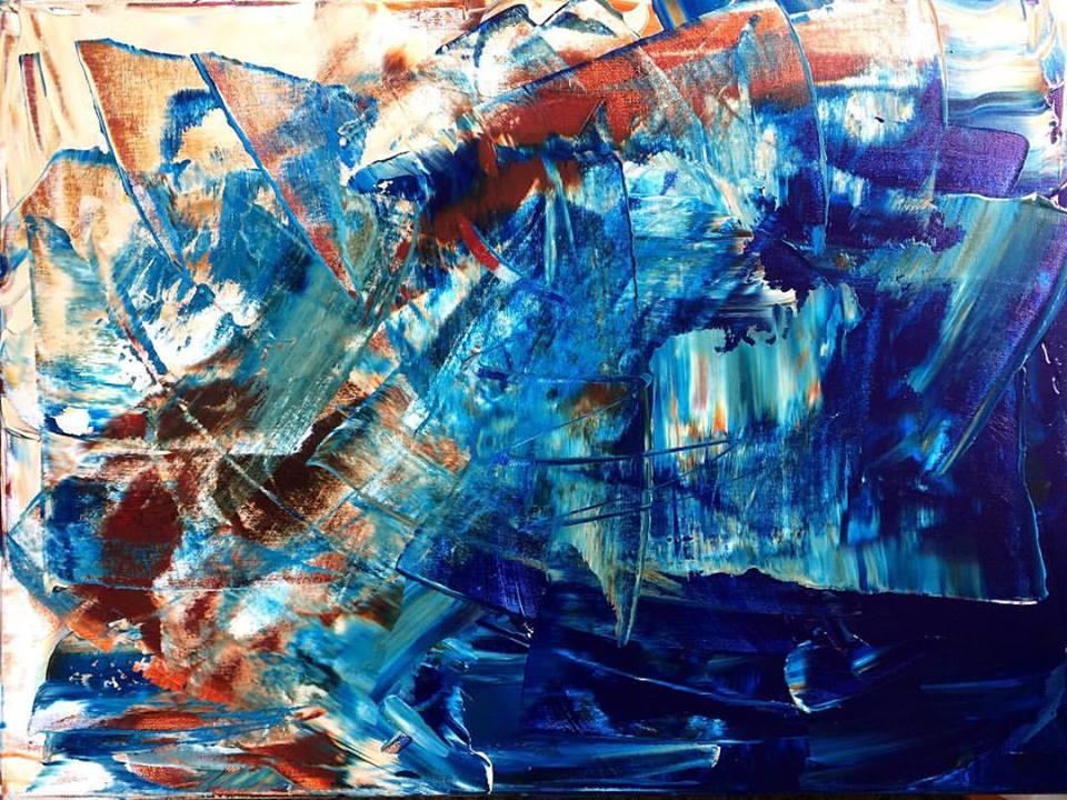 "Panthere | Acrylic | 18"" x 24"""