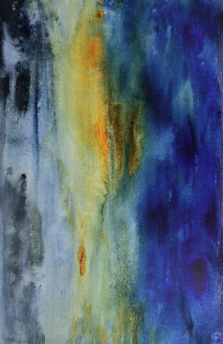 "Daybreak | Watercolor | 12"" x 18"""