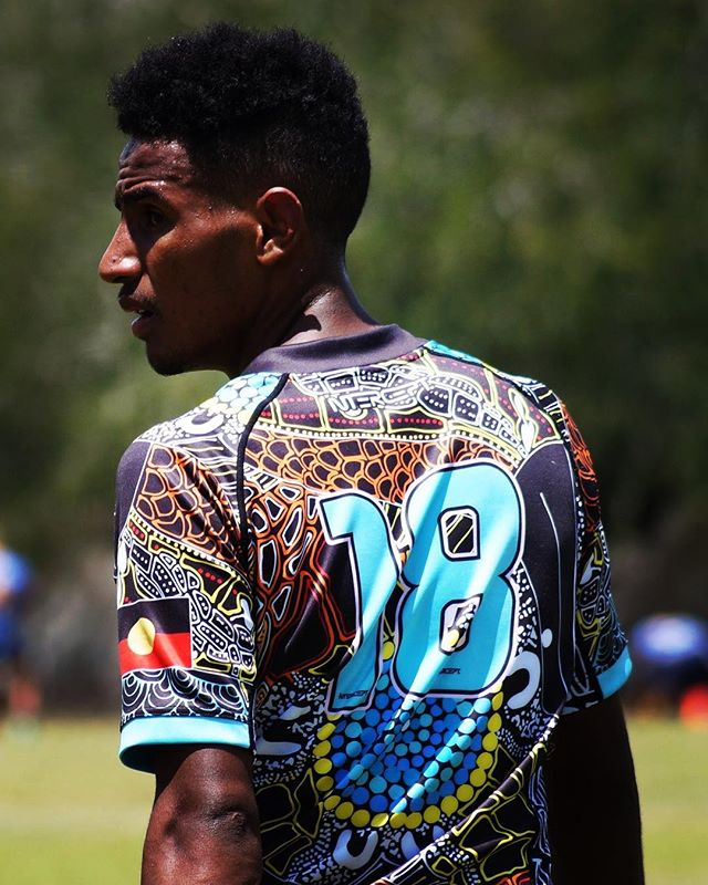 Unleash your Colours! - - - -  The 'Rocky Crocs' competed at the recent Warba Wangarunya Rugby League tournament in Rockhampton, in this visually stunning, custom made kit! If you want to look this good, you know what to do.... #UnleashYourColours