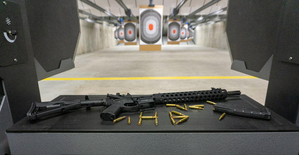 Gun Range Pistol Rental | Hot Brass (Guns Inc.)