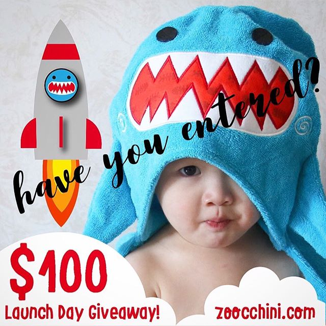 @zoocchini is doing an amazing giveaway!! Win $100, don't forget to enter!! Head to @zoocchini now!