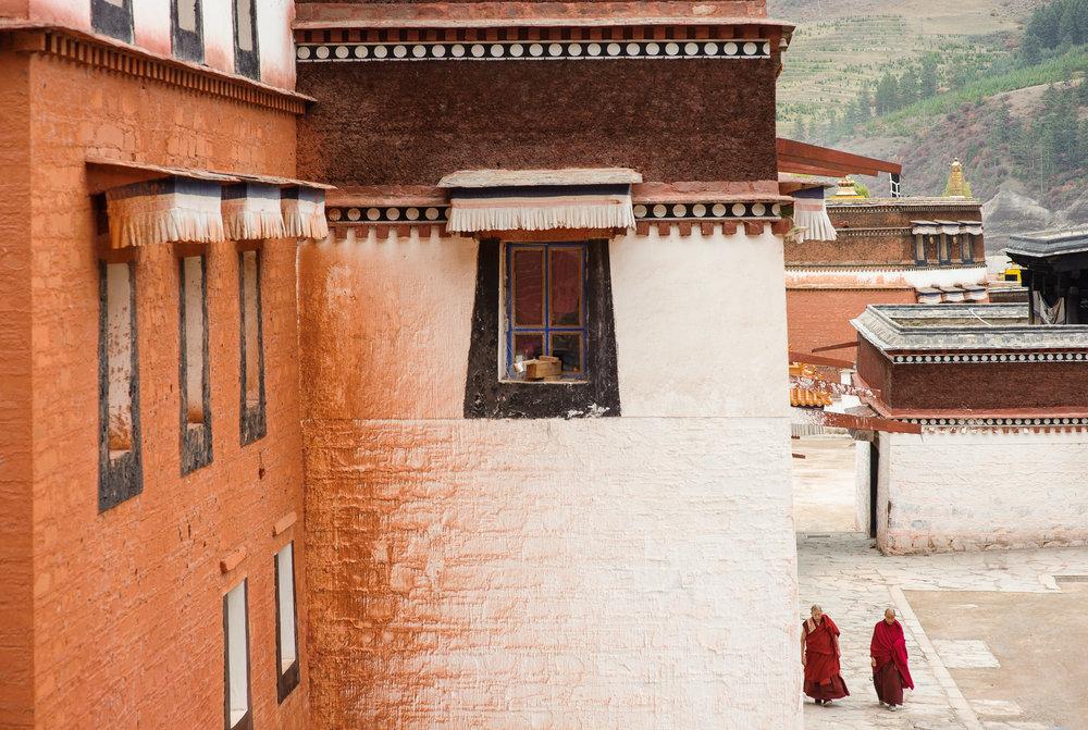 Labrang - Tibetan plateau
