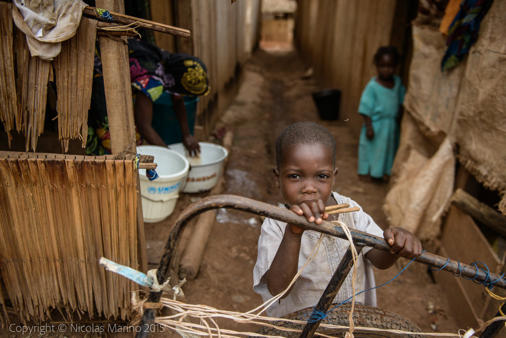 UNHCR refugee camp for the Fulani people fleeing civil war in Central African Republic