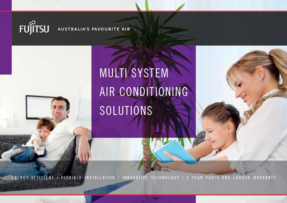 Fujitsu Multi Split Systems Brochure