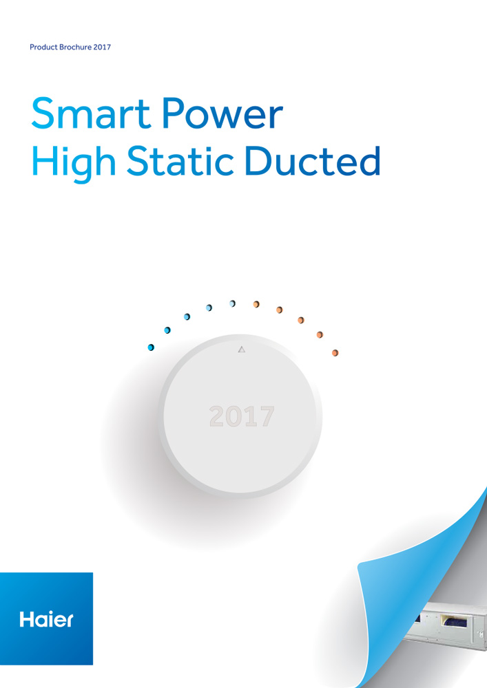 Haier AC Smart Power Hi Static Ducted Systems Brochure