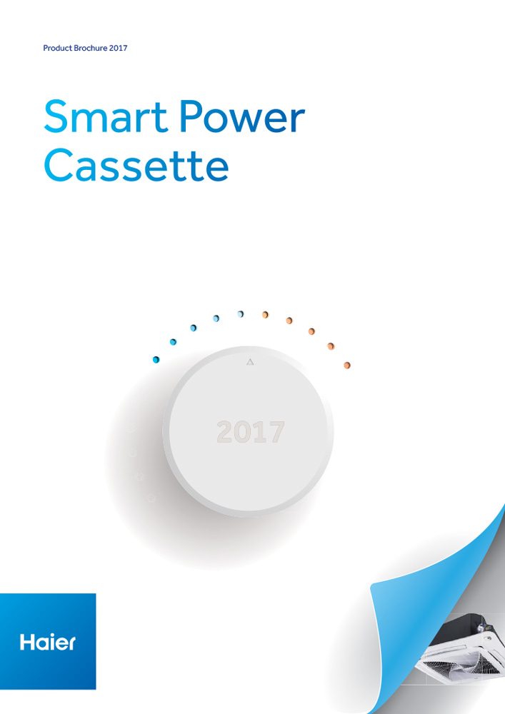 Haier AC Supermatch Smart Power Cassette Brochure