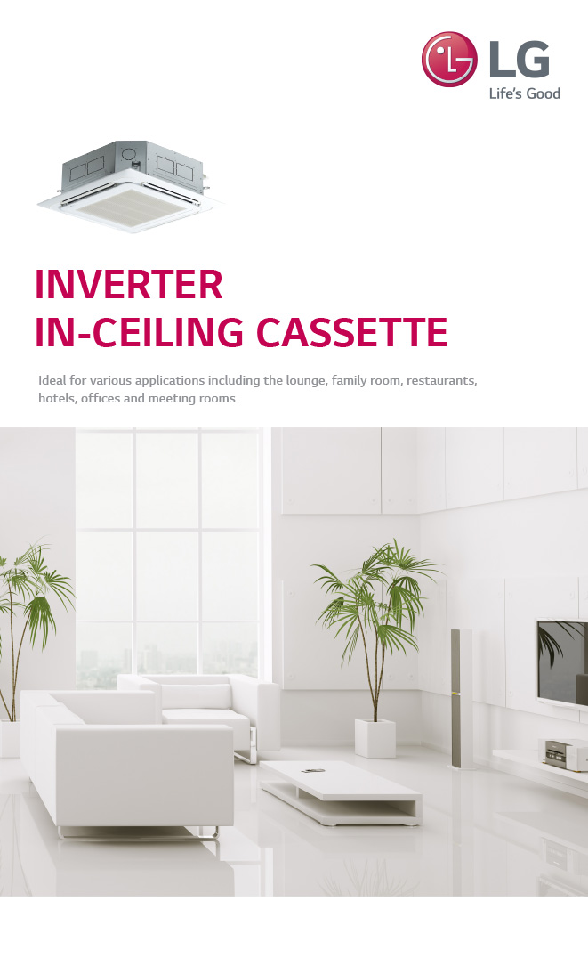 LG Cassette Air Conditioning Brochure
