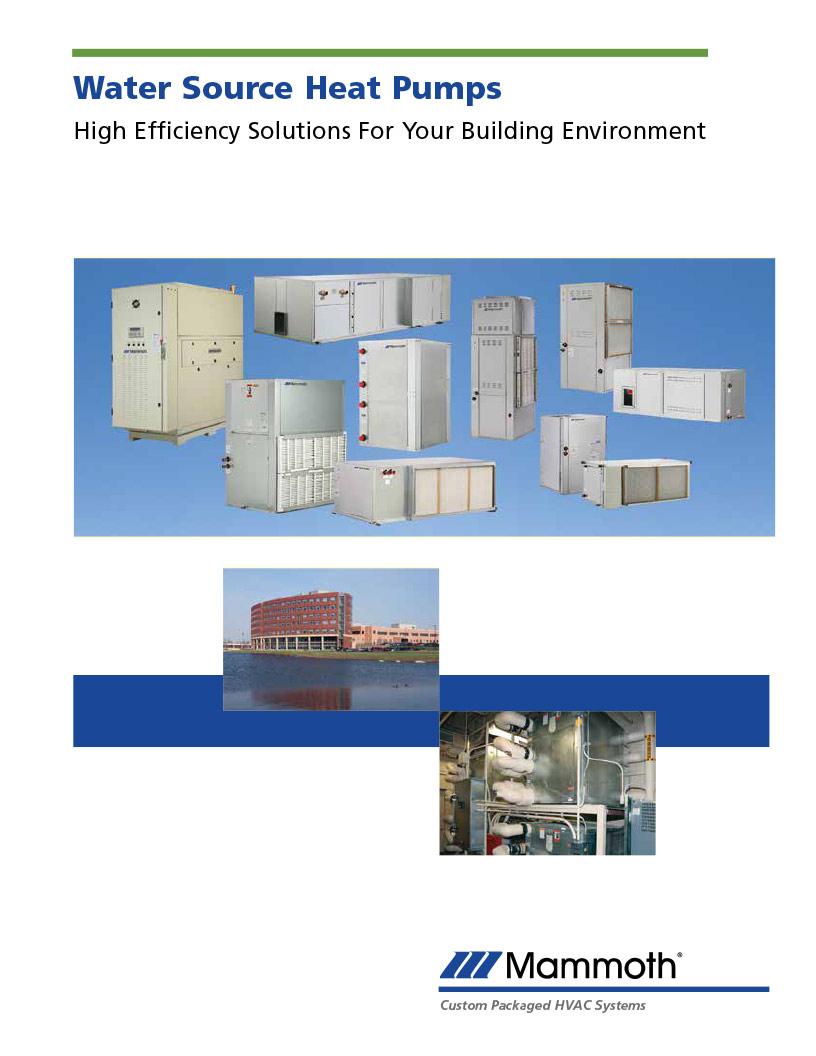 Water Source Heat Pumps
