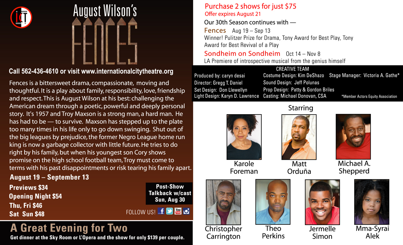 Fences Cast E-Card