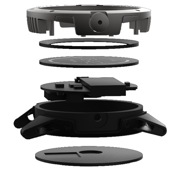 The PowerWatch was designed first as a thermal energy harvesting system, then smartwatch features were added once the system met its power target.