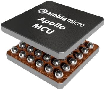 Ambiq Micro's Apollo 1 consumes very little power.