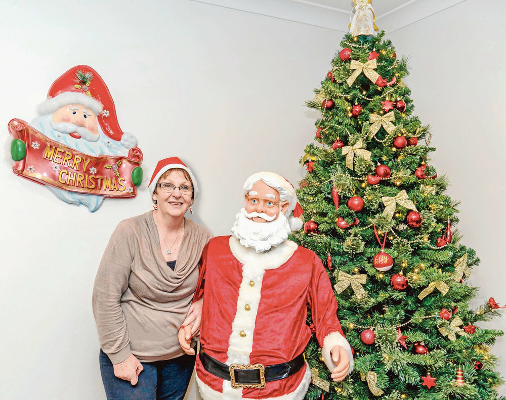 • Joanne Bowen has been creating Christmas memories in the Dorset community for 30 years.