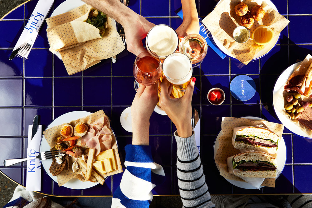 House Bar food