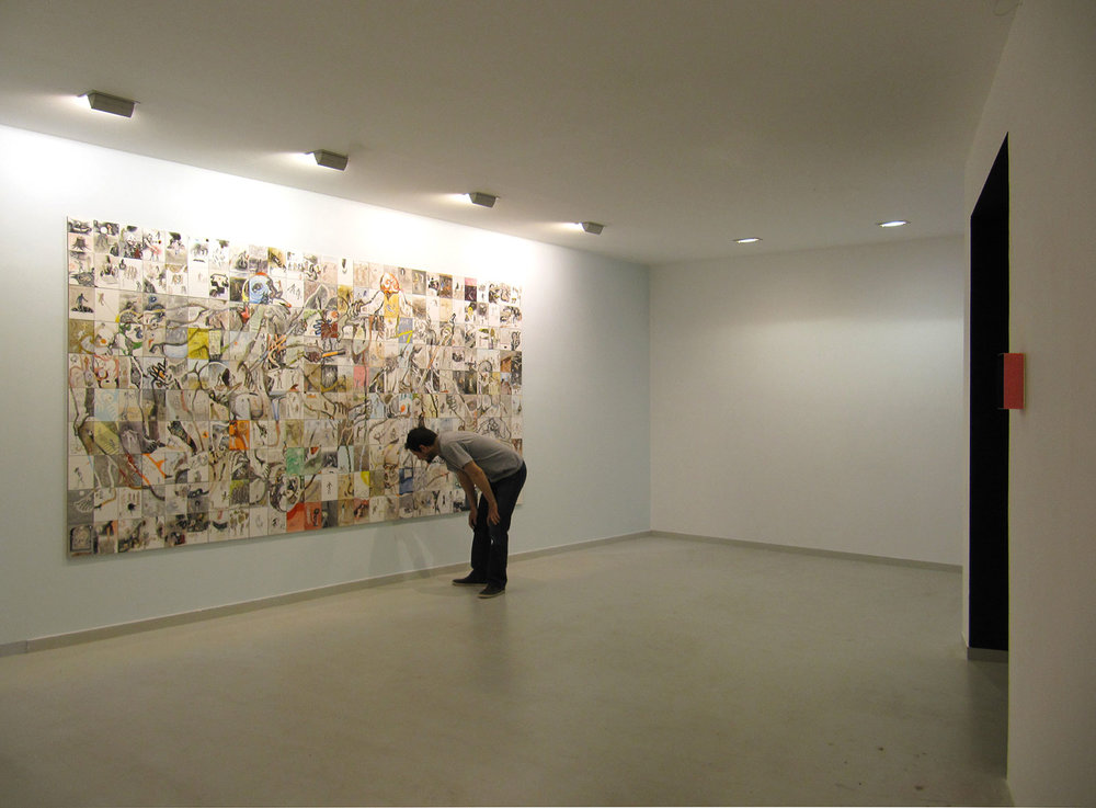 Overlook,  Qbox gallery, general view, 2012