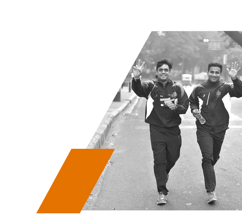 Gurugram - Thank you for running with us and making the inaugural edition a memorable one!