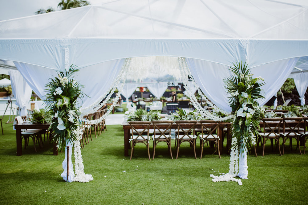 Tent Entry. Photo courtesy of  Modern Milestones Photography