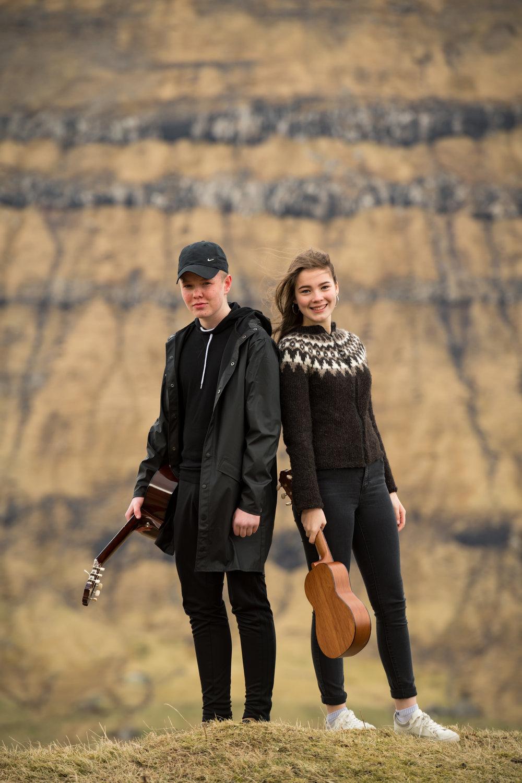 Beinir og Rakul Ró. Mynd: eydbii