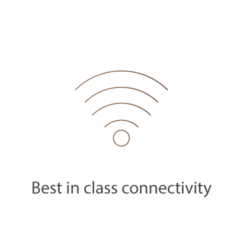 Best in class connectivity