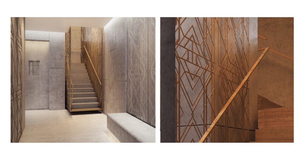 Art Deco Interior Axtell Soho Commercial Development