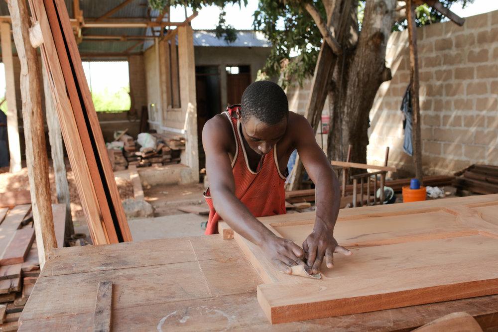 Savværk i Tanzania