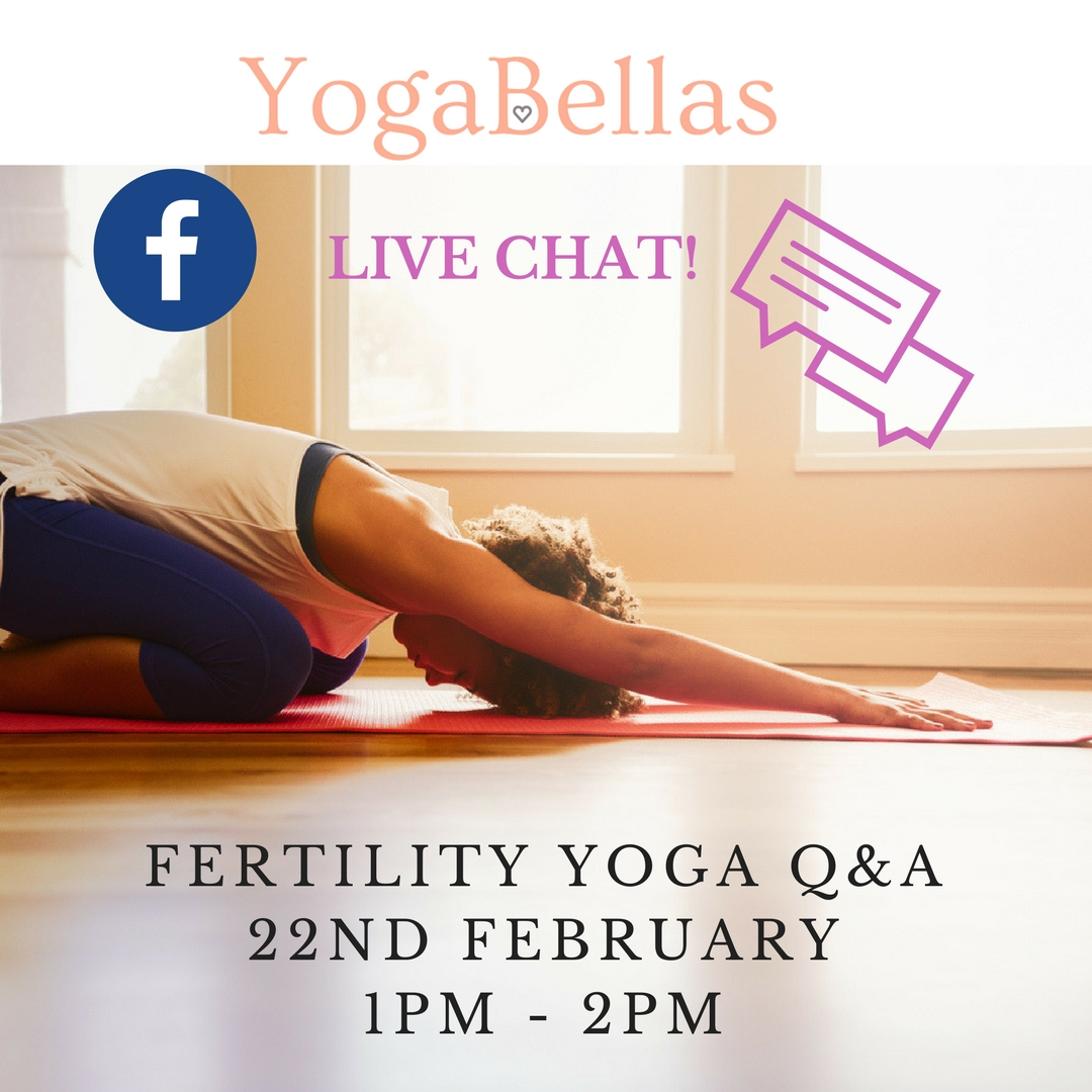 IVF & Fertility Yoga Support UAE - Live Facebook Chat
