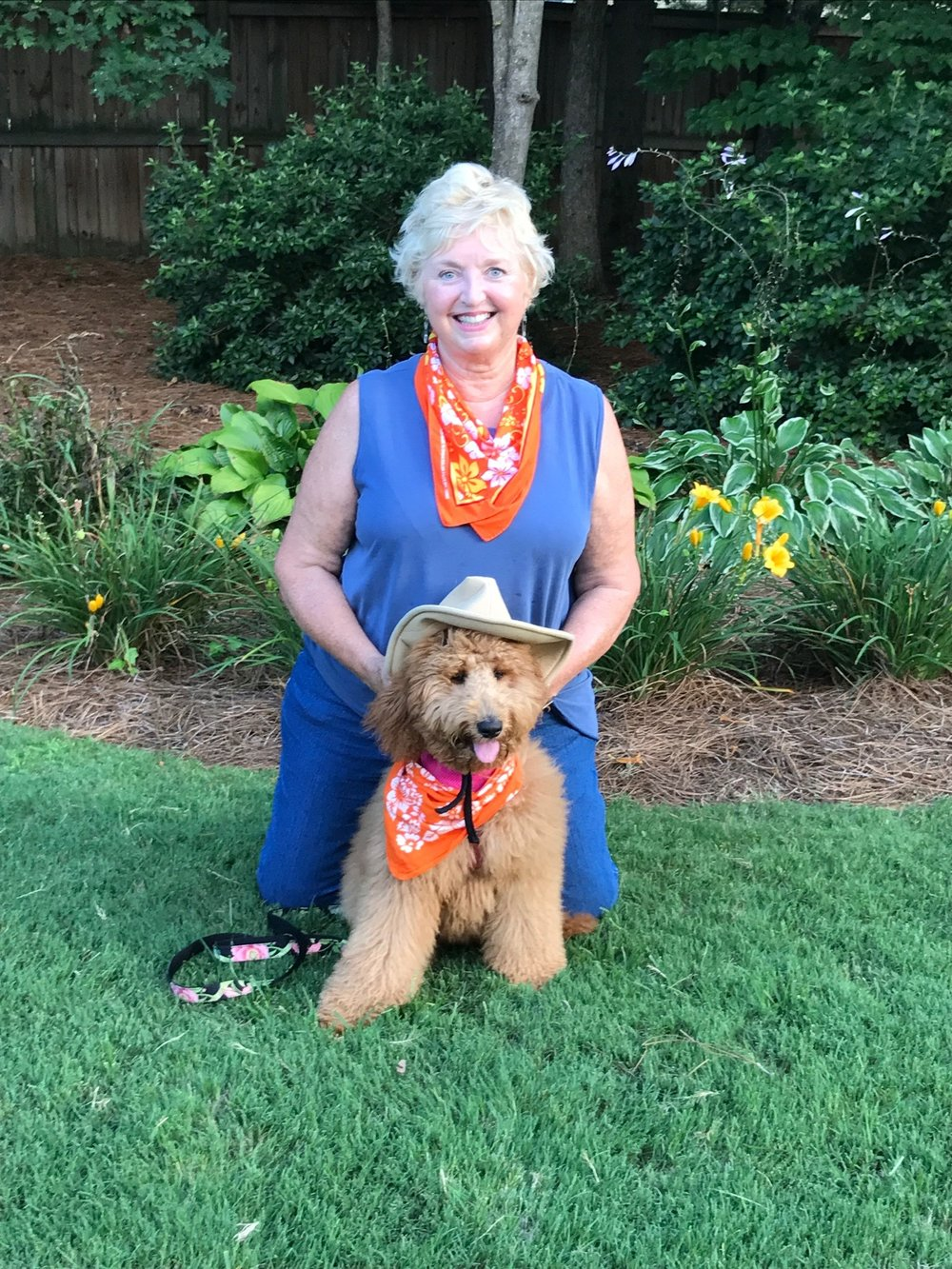 Ginger & Gail - Best puppy training class ever! Pat and Patti are outstanding instructors! My puppy did not want to leave. Looking forward to next week!