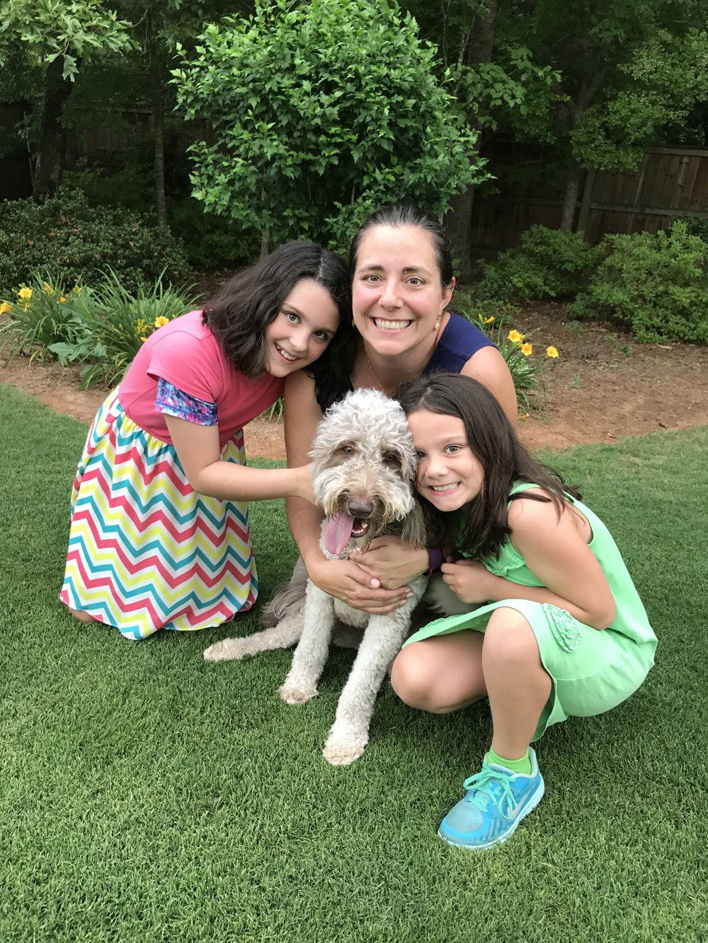 Holly & Kelly & Katherine & Amelia - We loved our training at Super Dooper dog training with our puppy - great socialization in a small class atmosphere. Can't wait to take more training with Pat!