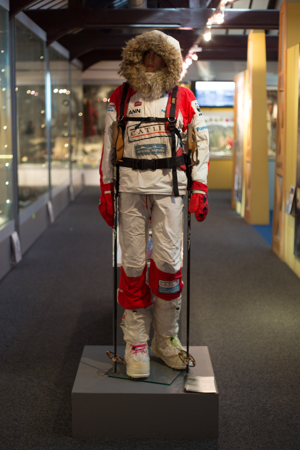 Ann Daniels Polar Equipment, Torquay Museum, The Shorely