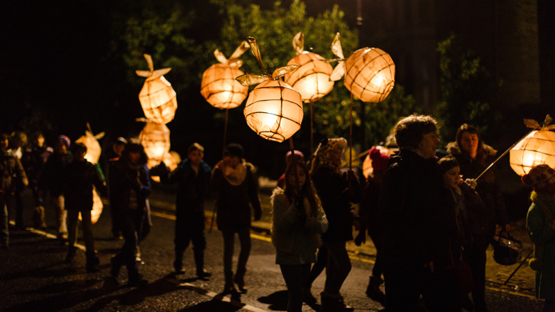 Lantern Procession, Christmas By The Sea, The Shorely