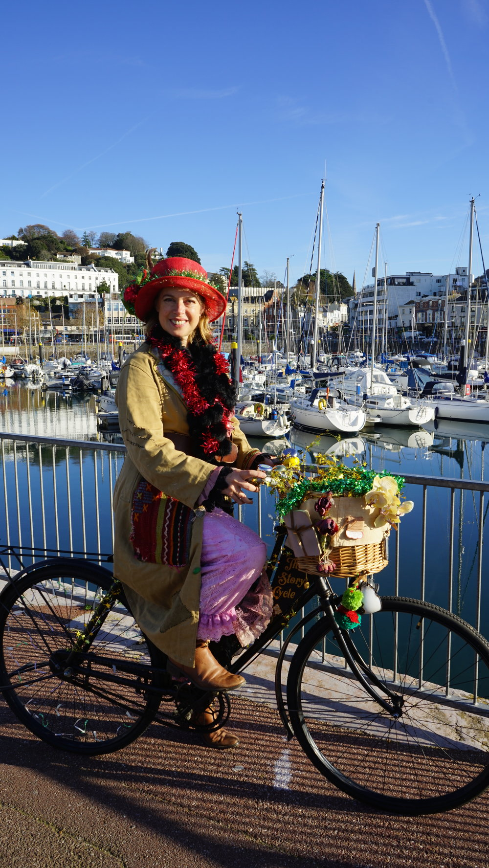 Isabella Necessity Story Bicycle, The Shorely, Torbay Culture