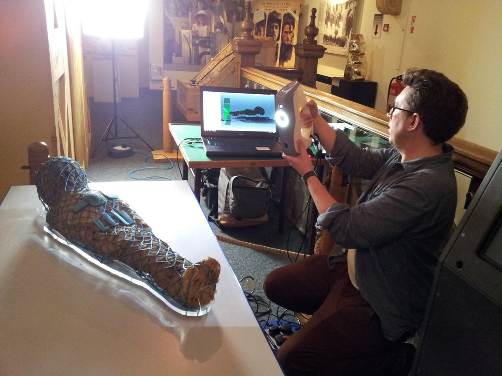 BBC scanning Torquay Museum's Egyptian mummy boy - Torbay Culture, The Shorely
