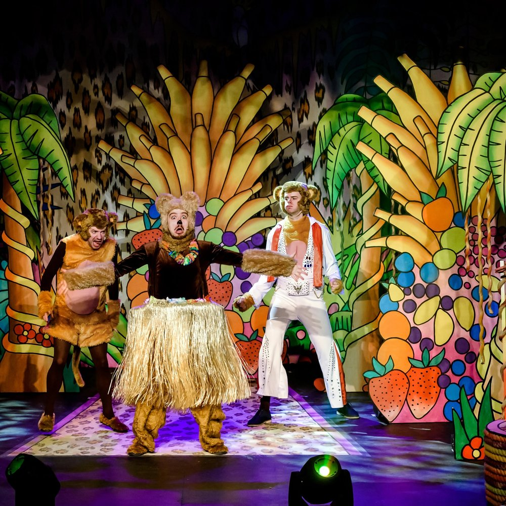 #4 JUNGLE BOOK - Immersion Theatre bring their trademark energy to their wildest show yet, with a brand new musical adaptation of family favourite, The Jungle Book on the 1st April at the Palace Theatre. Filled with catchy songs, laugh out loud character performances and audience interaction - this is a great family theatre show. Book tickets