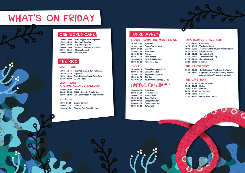Grinagog Festival, Friday What's On, Torbay Culture, The Shorely