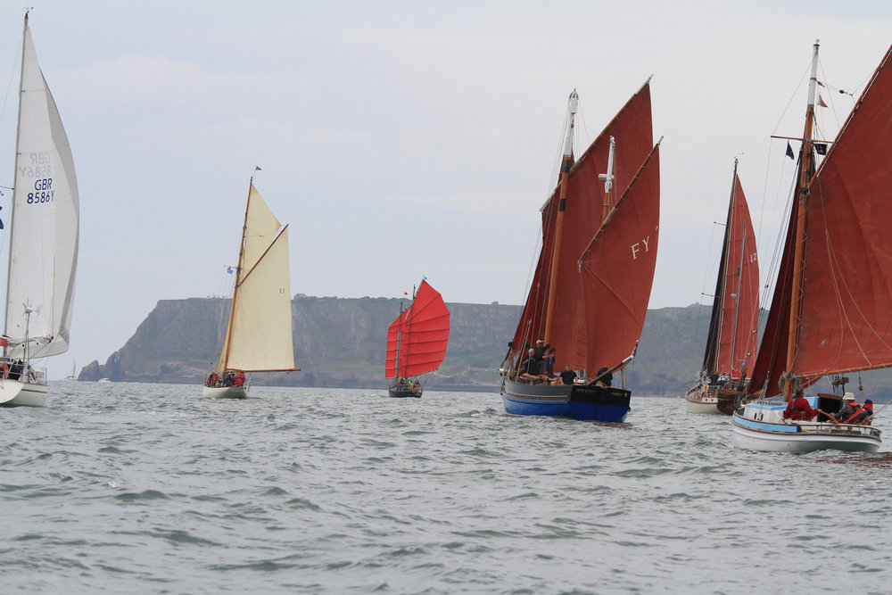 Torbay Culture, The Shorely, Brixham Heritage Sailing Regatta