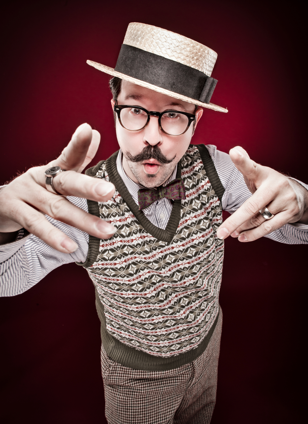 Mr B, gentleman rhymer, The Lucky 7 Club, The Shorely