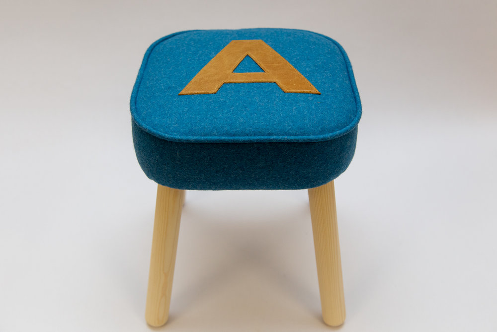 Gaff Interiors - Children's Stool - £95Buy at Gaff's Cockington Court studio or email Justin at info@my-gaff.com