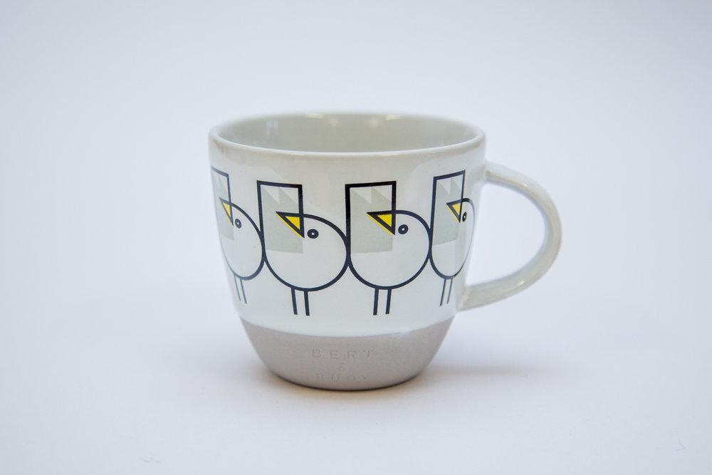 Bert & Buoy - The Great Gull Mug - £15Buy from the Bert & Buoy Dartmouth Store and https://bertandbuoy.com/