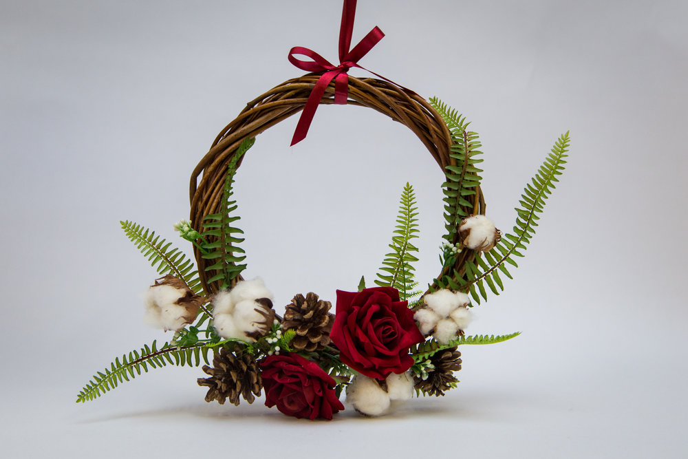 Flower La Vita - Christmas wreaths starting from - £25.00Orders can be placed via website- www.flowerlavita.co.uk or email vita@flowerlavita.co.uk